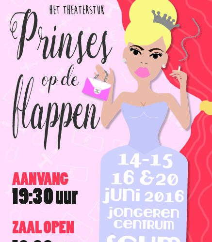 Prinses op de flappen