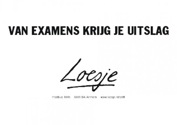 loesje-examen-1