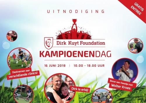Kampioenendag 2018 uitnodiging