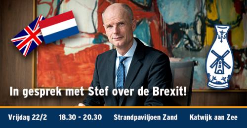 Uitnodiging avond Stef Blok (22-02-2019)