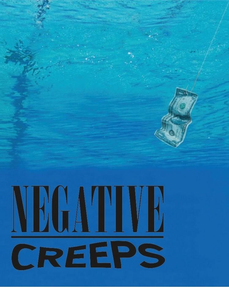 negative creeps