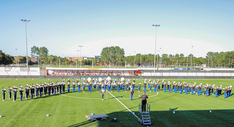 Foto bij DVS Persbericht Indrukwekkende Jubileum Taptoe Katwijk