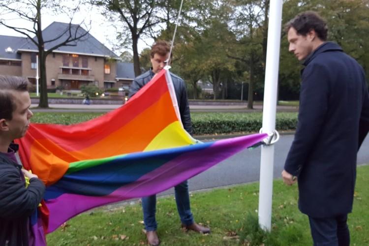 regenboogvlag katwijk 2017