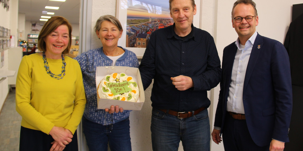 Top10 positie met Jacco Knape Jan Klerk Martine Schreuder en Ineke Blom